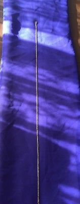 Cadena tejido chino en oro