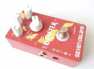 Caline Drifter Pedal 7 Delay Guitarra Lo-fi Feedback Time