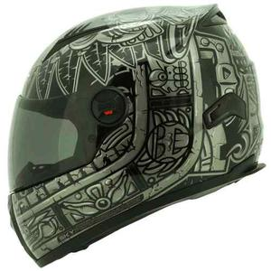 Casco Shaft Aztec Disponible Talla M Y Xl + Mica Rider One