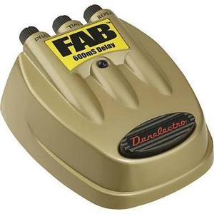 Danelectro Delay D-8 Fab Pedal Guitarra Efecto Flashback D8