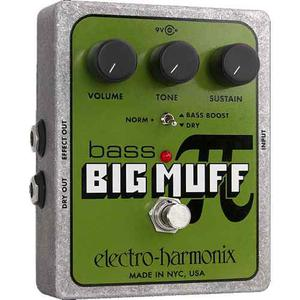 Electro Harmonix Big Muff Bajo Bass Eh Pi Fuzz Distortion