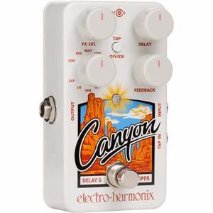 Electro Harmonix Canyon - Pedal De Guitarra Delay / Looper
