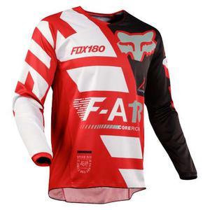 Jersey Fox 180 Sayak Rojo Talla M Motocross Mtb Downhill