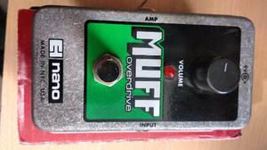 Pedal Electro Harmonix Nano Muff Overdrive P Guitarra U.s.a