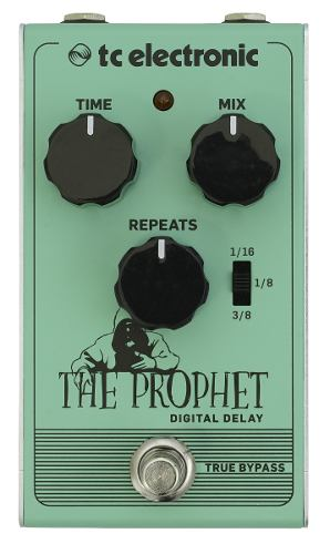 Tc Electronic The Prophet Digital Delay Pedal True Bypass