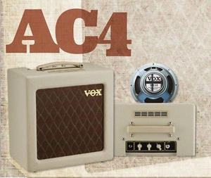 Vox Ac4tv Con Bocina Celestion De 10 Pulgadas Nuevo