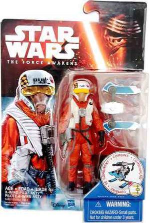 X-wing Pilot Asty Star Wars: The Force Awakens 3 3/4 Hasbro
