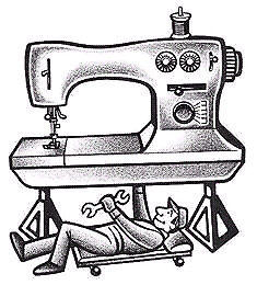 técnico en máquinas de coser