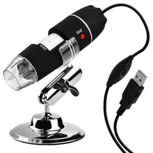 Microscopio Digital Usb 500x Zoom Optico Hd 8 Potentes Leds