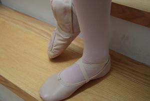 Zapatillas De Ballet Y Jazz De Media Punta