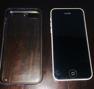 iPhone 5c Blanco como NUEVO