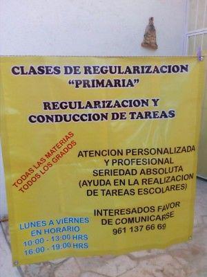 CLASES DE REGULARIZACION EN PRIMARIA