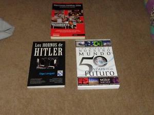 Coleccion De Libros. 3 Volumenes. (Urge Por viaje)