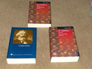Coleccion De Libros El Capital. 3 Volumenes. (Urge Por