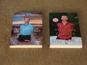 Coleccion De Libros Nick Vujicic. 2 Volumenes. (Urge Por