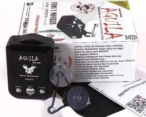 Detector De Radar Aguila Con Avisador Gps Da-200 Para Mexico