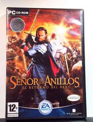 El Señor De Los Anillos (videojuego) Pc Nuevo Original