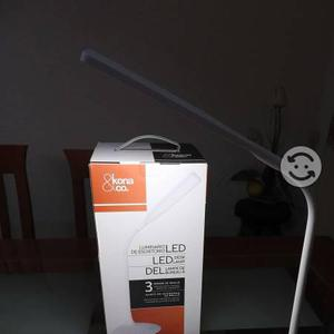 Lampara LED recargable de cuello flexible