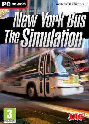 New York Bus The Simulation (pc) Camiones Simulador Fisico