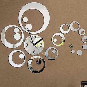 Reloj De Pared Decorativo De Acrílico Varios Diseños