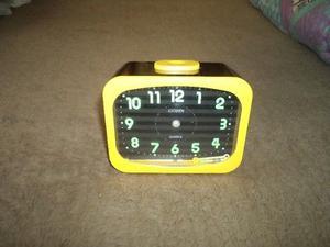Reloj Despertador Marca Citizen. (Urge Por Viaje)