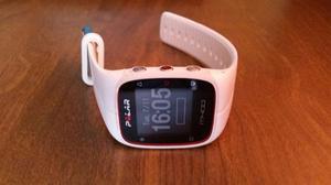 Reloj Polar M400 Usado Banda Y Sensor Cardiaco Color Blanco
