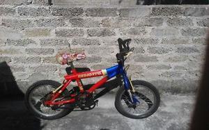 bicicleta para reparar