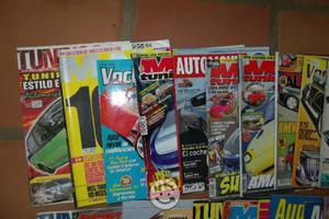Lote de revistas de audio y tuning