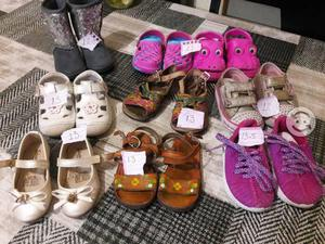 Lote zapatos 13 -12 niña