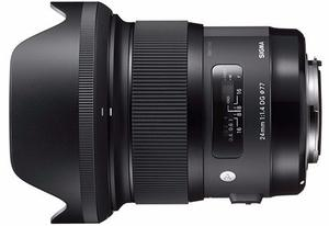 Sigma Lente 24mm F1.4 Dg Hsm Art/canon
