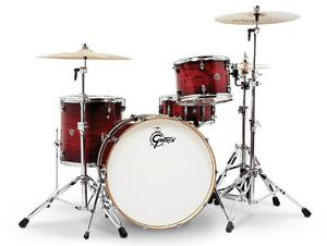 Bateria 4 Pzas 4 Colores Gretsch Catalina Club Rock Ct1r444c