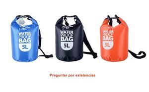 Bolsa Seca 5l Impermeable Campismo Senderismo Rafting Pesca