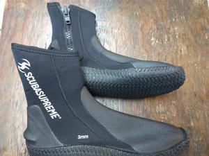 Botas De Neopreno 3mm Para Buceo Y Snorkel
