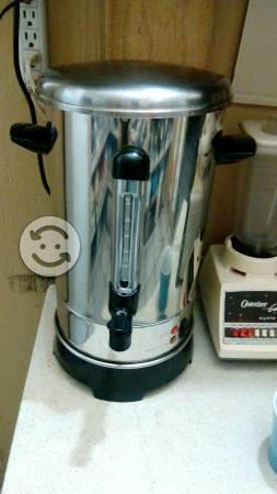 Cafetera industrial acero inoxidable 8 litros