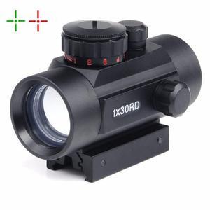 Mira Red Dot 1x30 Con Nivel Táctica Punto Rojo Verde 11 Y