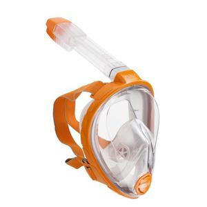 Máscara Snorkel Y Buceo Aria Ocean Reef Naranja Talla S/m