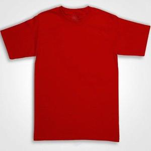 PLAYERA ROJA EN STOCK