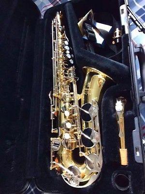 Saxofon Alto Yamaha Yas 200 excelente estado