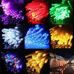 Serie Tira De Luces Led 50 Luces Para Exterior E Interior