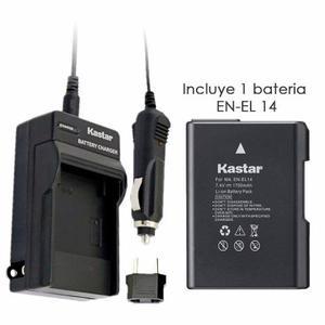 Cargador Y Batería En El14 Para Nikon D D D