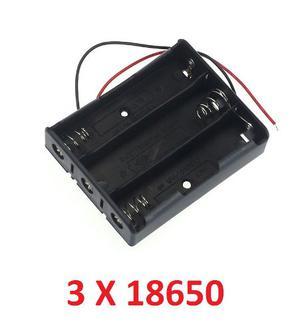 Porta Baterias Pilas  Para 3 Baterías En Serie