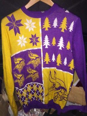 Ugly sweater vikingos de minesota