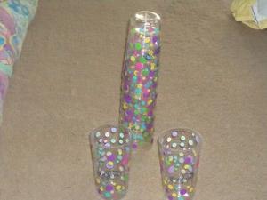 Vasos De Plastico Promocionales Bonafont.(Urge Por Viaje)