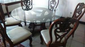 Comedor Nuevo estilo Chippendale MUY BONITO 6 sillas