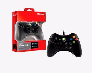 Control Microsoft Para Xbox 360 / Pc Alambrico