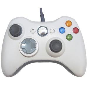 Control Xbox 360 Y Pc Gamepad Alambrico Usb Negro / Blanco