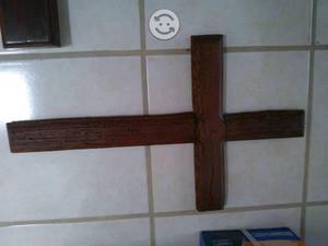 Cruz de madera 60 cm de alto