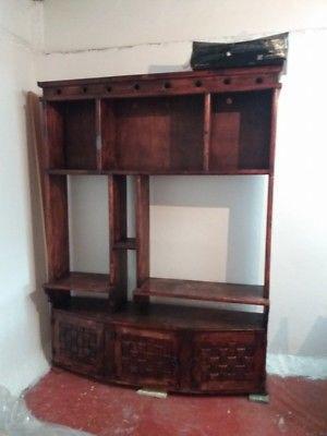 Librero de madera en excelentes condiciones