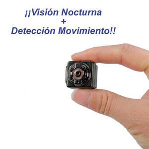 Mini Camara Espia 8gb Detector Movimiento Vision Nocturna