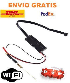 Mini Camara Espia Ip Wifi Full Hd p P2p Lente Sony